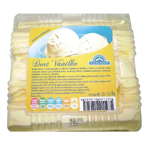 Polárkový dort DIA vanilka 615ml