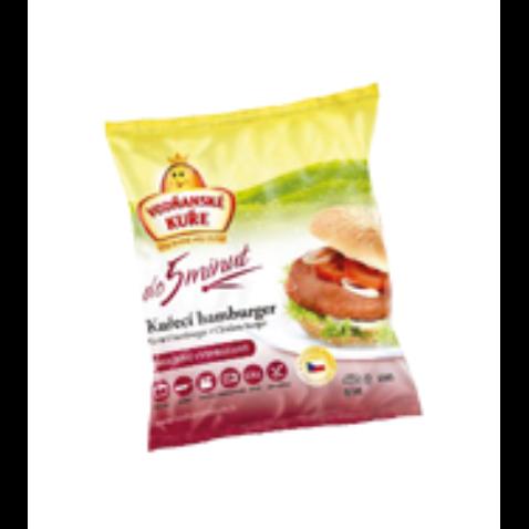 Hamburger kuřecí smažený             420g