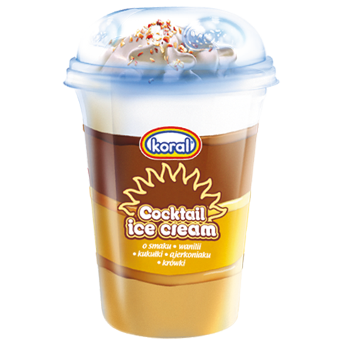 Kelímek vanilka+karamel+vaječný koňak+čokoláda 220ml