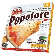 Pizza Popolare 3 druhy sýra 315g