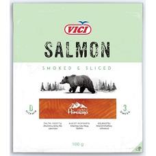 Uzené plátky z norského lososa  100 g