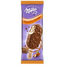 Milka karamel + mandle