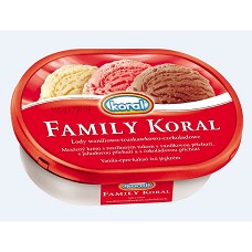 Family Koral van.+čok.+jah. 750ml