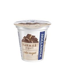 Jogurt krémový Farmář čoko - nugát 125g