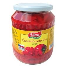 Paprika červená řezaná    650g