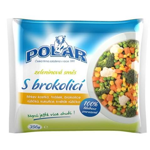 Zeleninová směs s brokolicí Polar 350g