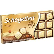 Schogetten Trilogia čokoláda 100g