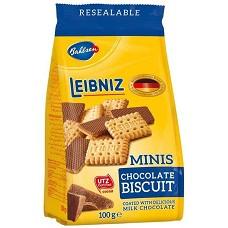 Sušenky Leibniz Minis čoko 100g