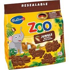 Sušenky ZOO Jungle kakaové 100g
