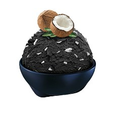 SCHÖLLER vana  Černý kokos 5 litrů