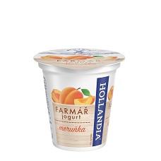 Jogurt krémový Farmářek meruňka 125g