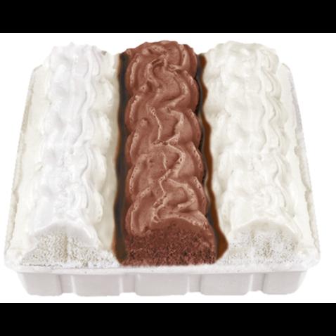 Polárkový dort vanilka+kakao 615ml