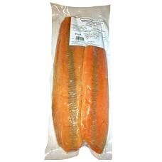 Losos filety bez kůže  500g